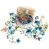 200 Glass Smoking Pipe Screens Daisy Flower Style Screen Pyrex Assorted Colors