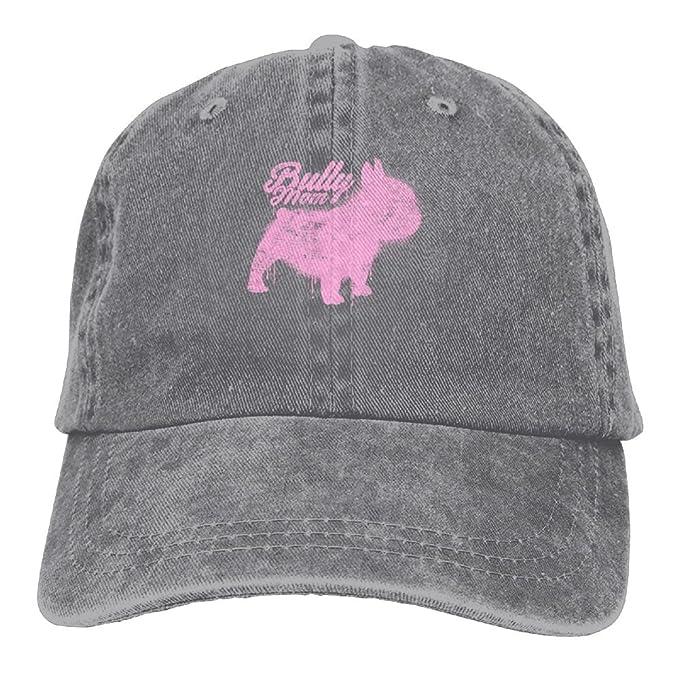 d637bdd141770 Arsmt Frenchie Mom Dog Denim Hat Adjustable Female Fitted Baseball ...