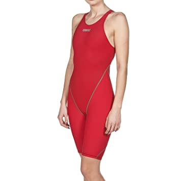 Arena Combinaison Power Skin St 2.0 dos ouvert de natation Compétition Femme,Powerskin ST 2.0 offener Rücken, roi, 28 FR