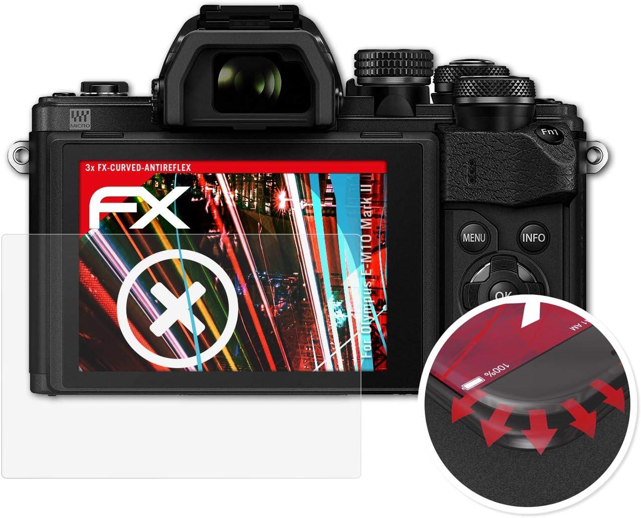 Atfolix Schutzfolie Kompatibel Mit Olympus E M10 Mark Kamera