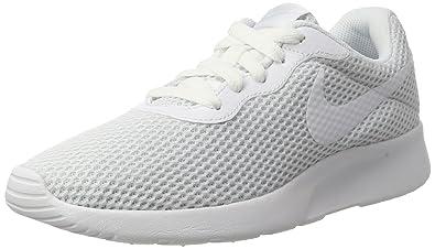 Nike Women's Wmns Tanjun SE Trainers, White (White/Pure Platinum/White)