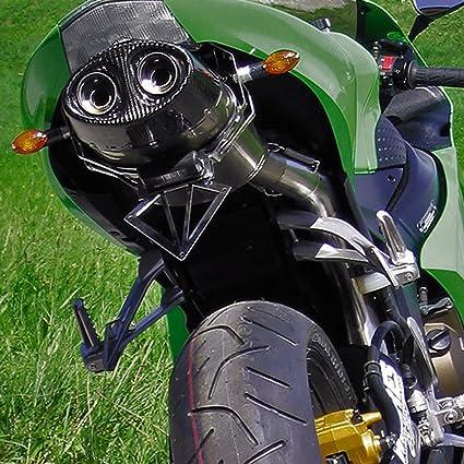 bodis de escape ovalado Q1 Slip-on Titan ZX de 6RR Ninja 600 ...