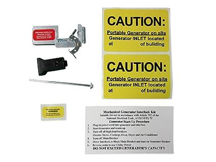 br100ul cutler hammer generator interlock kit br series only 100 amp rh amazon com
