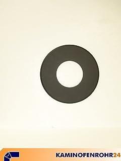 geeignet für ø 150 mm Rosette mit 90 mm breitem Rand Senotherm Schwarz