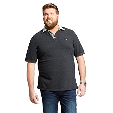 82caa5c280f Image Unavailable. Image not available for. Color: Goodfellow & Co Men's Big  & Tall Short Sleeve Polo Shirt ...
