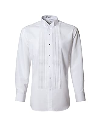 25c86b68f35 Tuxedo Shirt- White Wing Collar 1 4