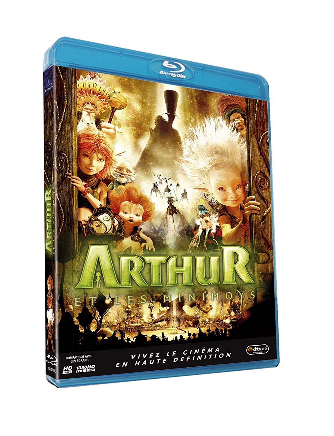 Amazon Com Arthur And The Invisibles 2006 Arthur Et Les Minimoys Arthur And The Minimoys Blu Ray Reg A B C Import France Mia Farrow Freddie Highmore Ron Crawford Penny
