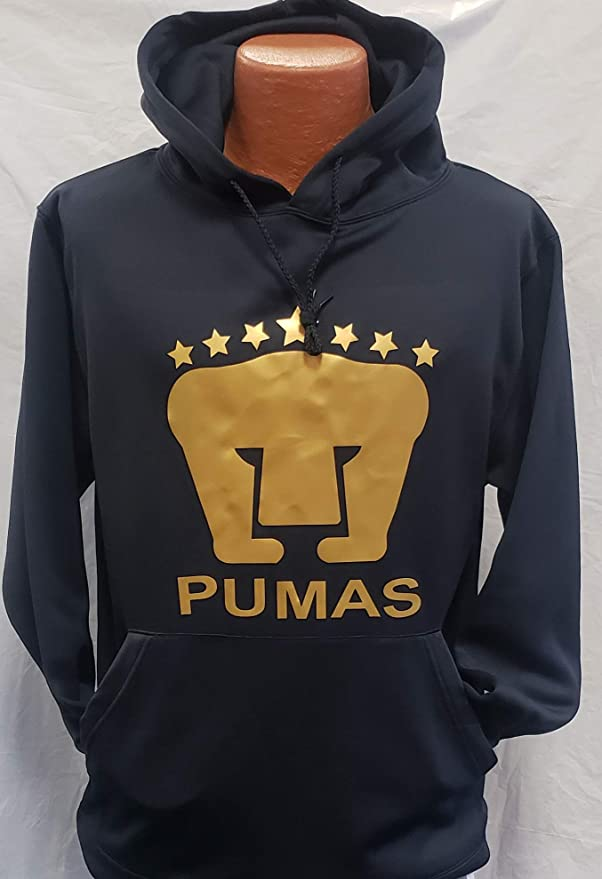 Club Deportivo Pumas De La UNAM Hoodie Size Small : Sports & Outdoors