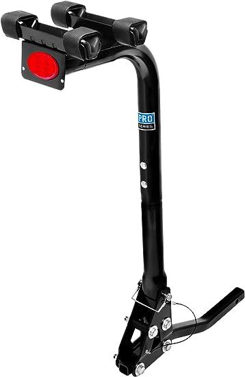Pro-Series 63120 Eclipse Black 2-Bike Hitch Mounted Bike Carrier