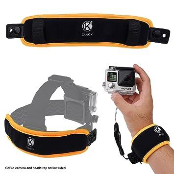 CamKix 2 en 1 Pulsera flotante y cinta para la cabeza flotante compatible con GoPro Hero
