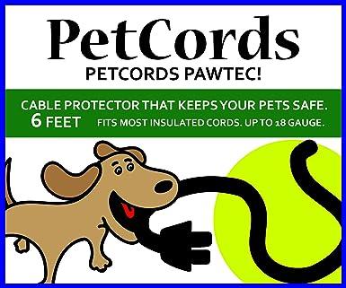 petcords Mini 6 ft Cable de Perro y Gato Protector-Protects ...