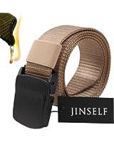 JINSELF 【グレードアップ版2】 S級永久ベルト 純正ナイロン100% 正規YKKバックル メンズ 2