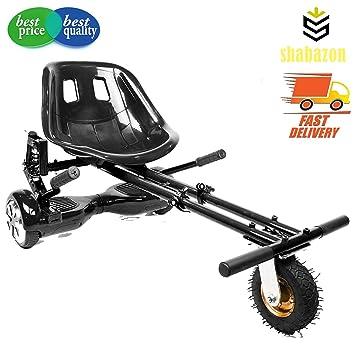 Shabazon HoverCart - Kart ajustable para tabla de skate - se adapta a dos ruedas de 16,5 cm, 20 y 25 cm, negro: Amazon.es: Deportes y aire libre