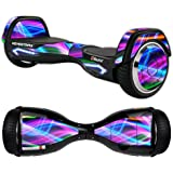 MightySkins Skin for Razor Hovertrax 2.0 Hover Board - Light Waves | Protective, Durable, and Unique Vinyl Decal wrap Cover | Easy to Apply, Remove, and Change Styles | Made in The USA