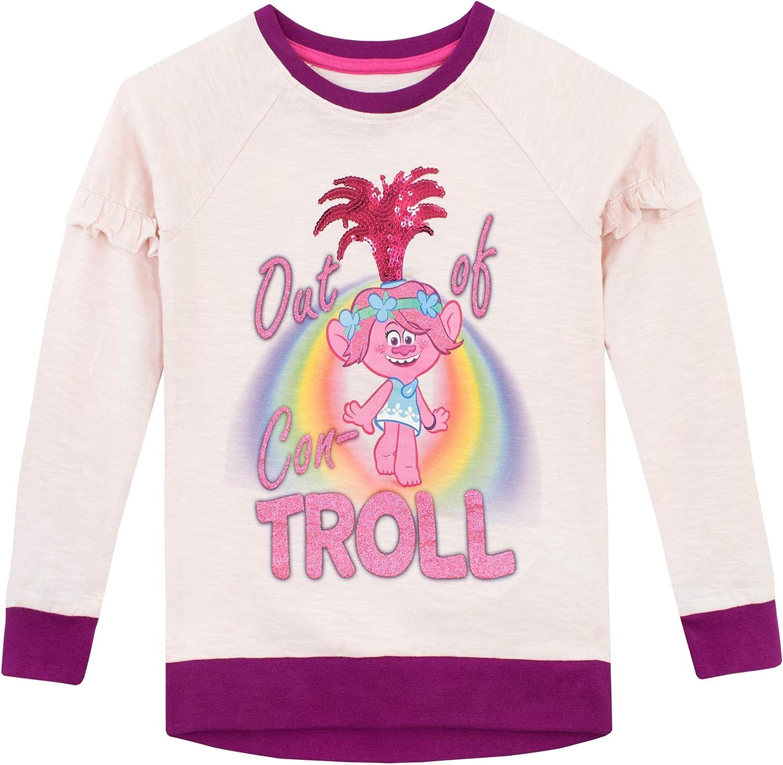 Trolls Girls Poppy Long Sleeve Top