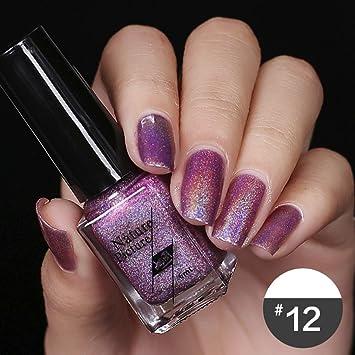 Smileq Diamond Laser Nail Polish Shimmer Long Lasting Lacque Nail
