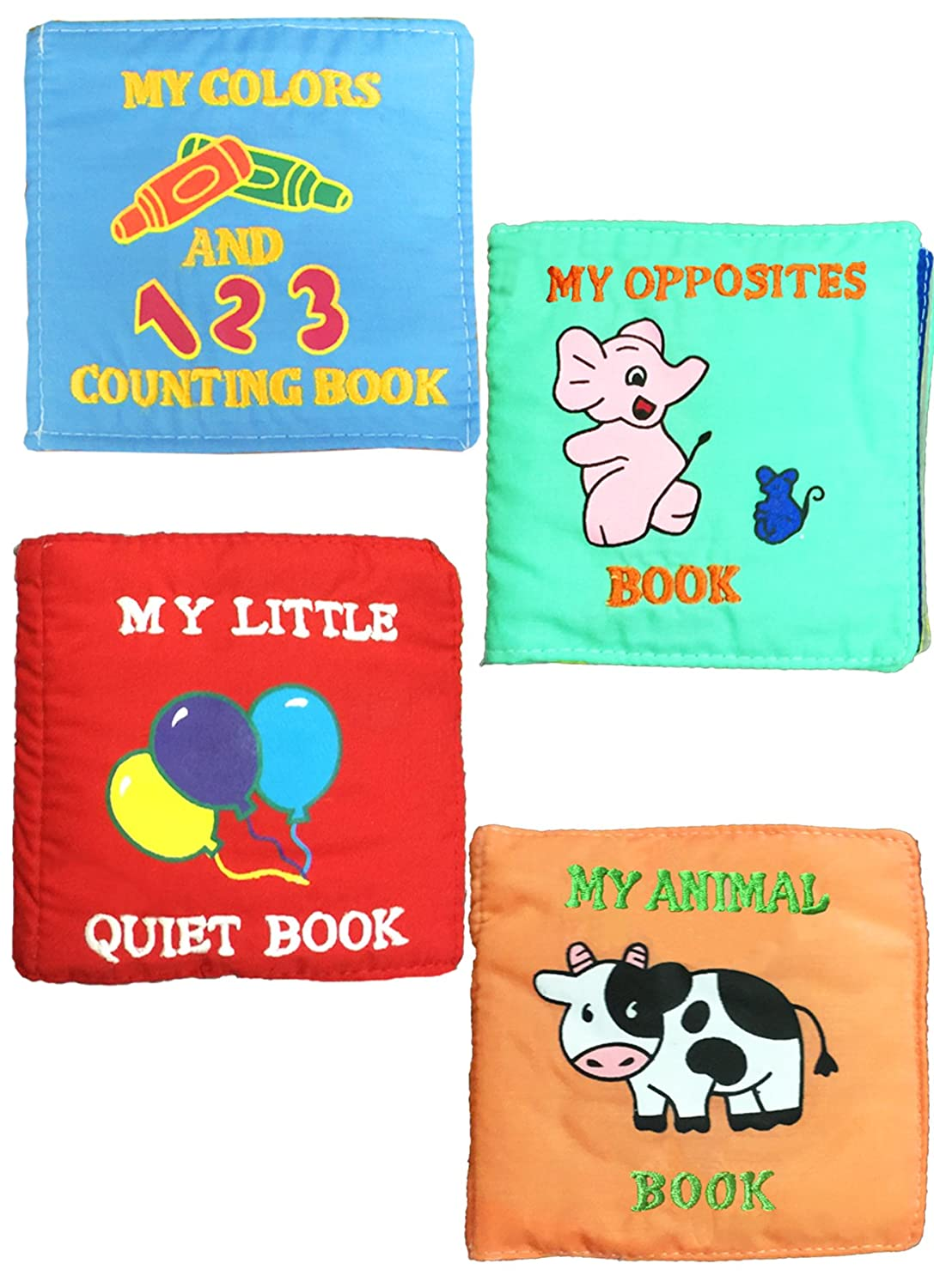 Amazon.com : My Little Quiet Books for Baby and Toddlers By Pockets ...