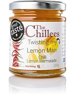 The Chillees | Mermelada de limón con pimiento |200g | Producto natural y sin conservadores