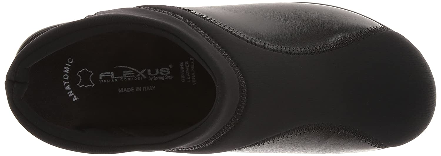 Flexus by Spring Step 41 Women's Flexia Flat B00CP604NU 41 Step EU/9.5-10 M US|Black 44089c
