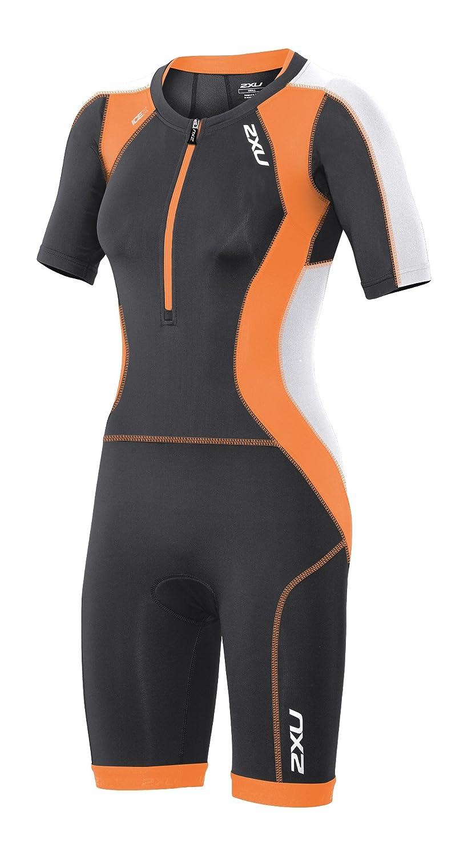 2XU Damen Compression Sleeved Trisuit Triathlon Einteiler WT3618d