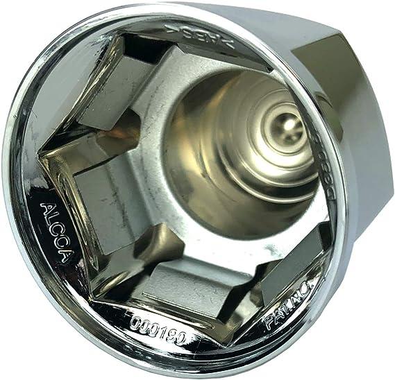 ALCOA 10 1 1//16 Push On Hex Flange Hug A Lug Nut Covers with Interior Metal Clip
