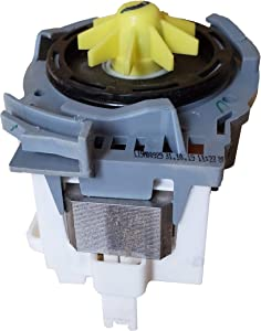 『Enterpark』 Premium Quality Cost Effective Part W10348269 Replacement of Water Drain Pump for Dishwasher