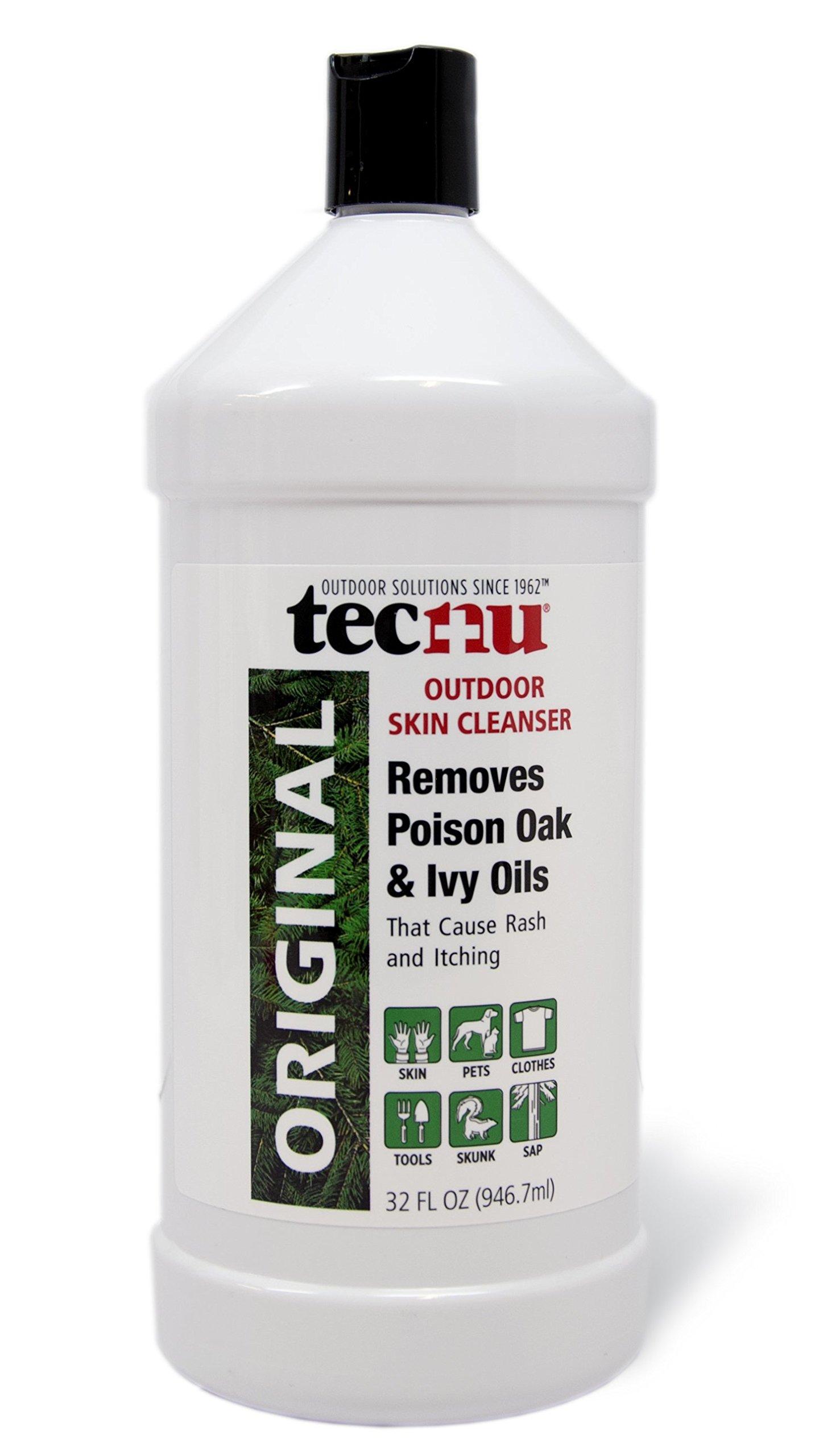 Tecnu Original Poison Oak & Ivy Outdoor Skin Cleanser, 32 Ounce