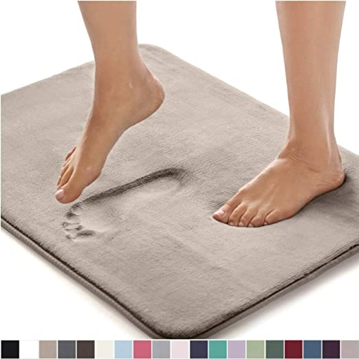 Amazon Com Gorilla Grip Original Thick Memory Foam Bath Rug