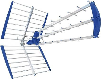 Antena UHF Digital Terrestre Tetra 28 LTE: Amazon.es: Oficina ...