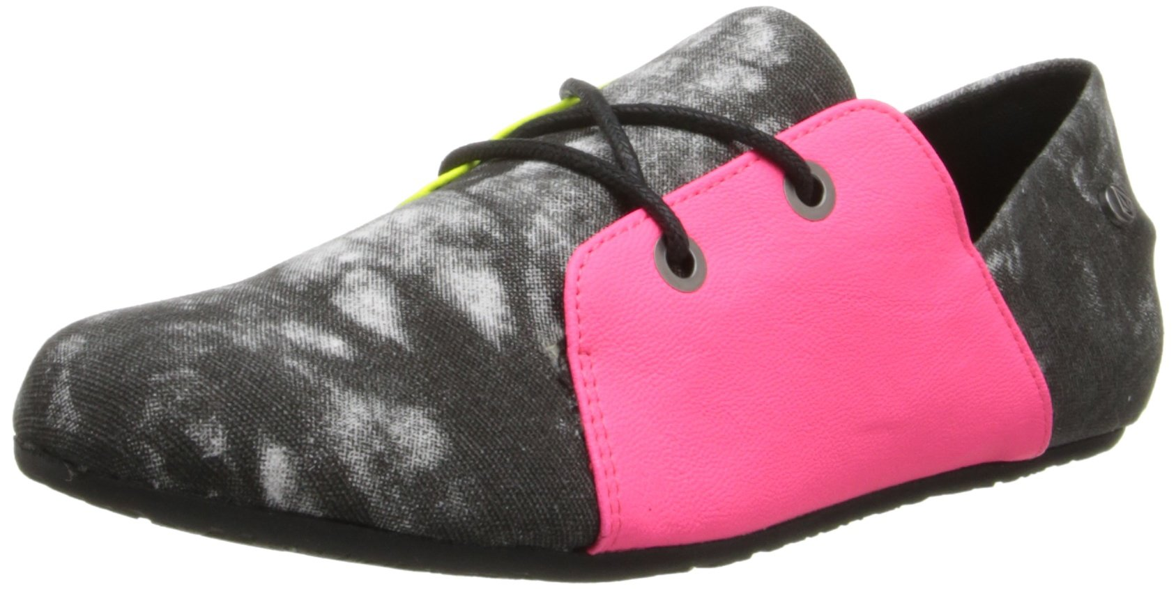 Volcom Women's Soul Mates Fashion Sneaker,Acid Grey,5.5 M US by Volcom