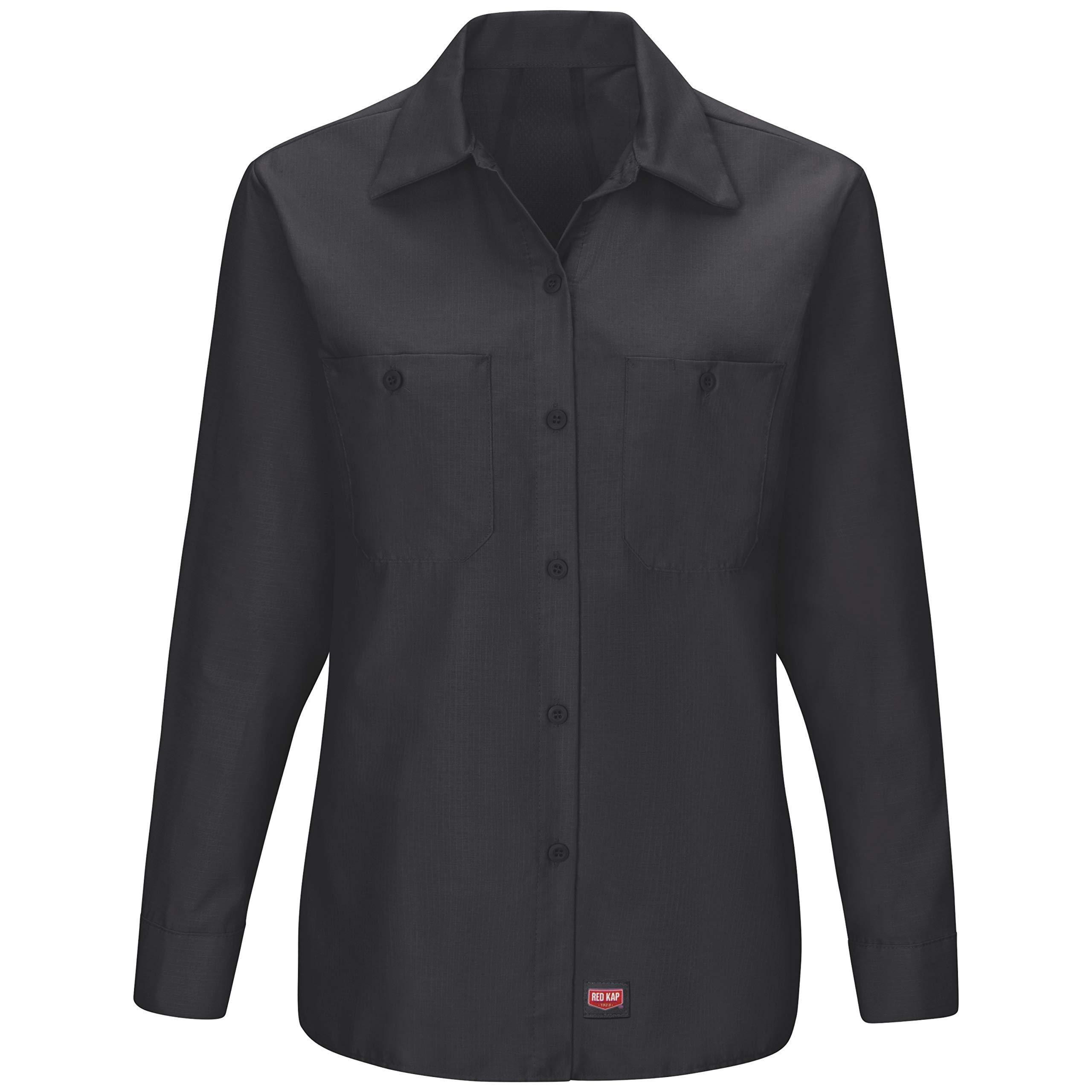 Red Kap Women's Long Sleeve Mimix Work Shirt