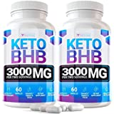 Keto Pills - (2 Pack | 120 Capsules) - 5X Potent - Advanced Keto Burn Diet Pills - Best Exogenous Ketones BHB Supplement…