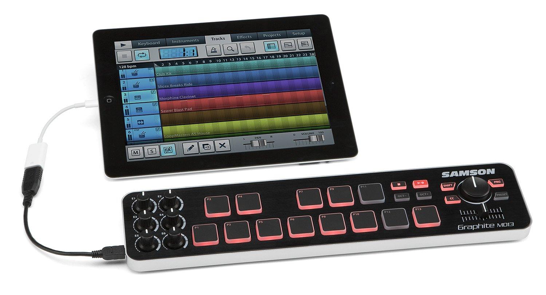 Samson Graphite MD13 Mini USB MIDI Controller by Samson Technologies