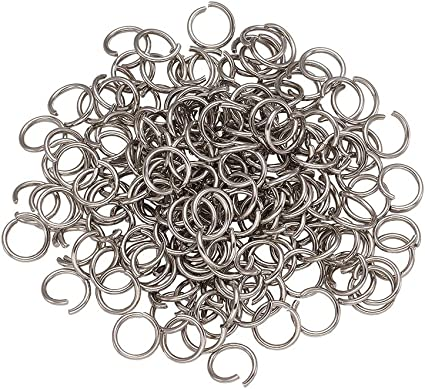 143-SS 500 Pcs 4 mm Stainless Steel Jump Rings
