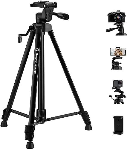 Fotopro 59 Zoll Kamera Stativ Aluminium Handy Stativ Kamera