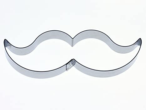 Kit Box Cutter y cortador de decoración para tartas - cortador de bigote - para Celebration