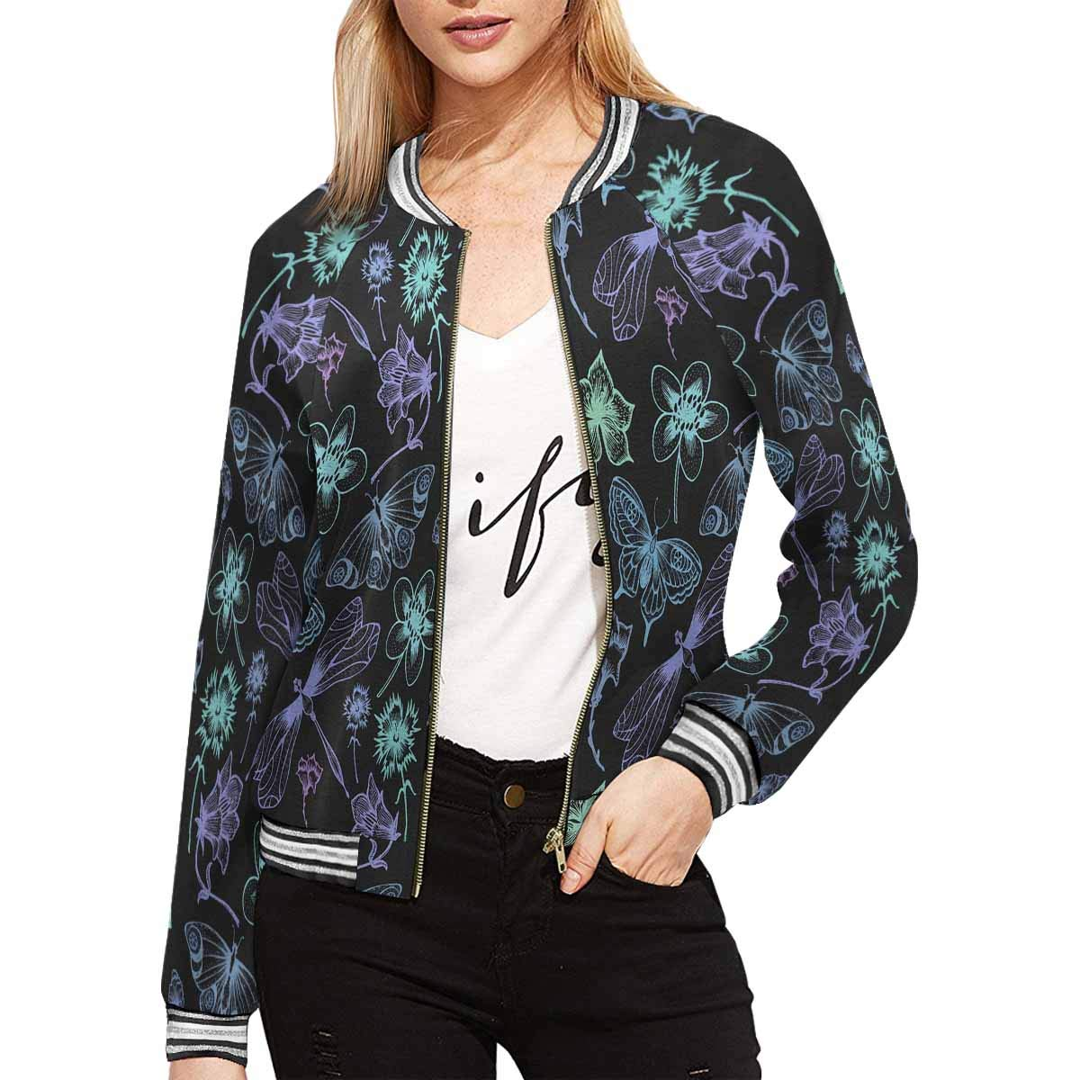 INTERESTPRINT Women's Lightweight Jacket Coat Outwear