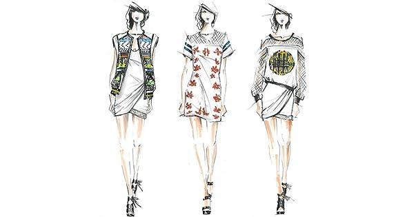 Amazon Com Fashion Sketches Wallpapers