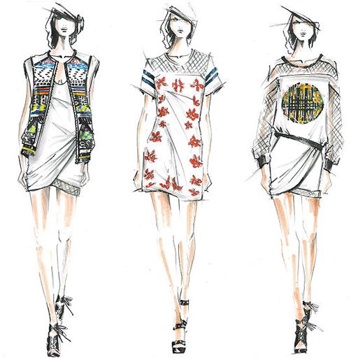Amazon Fashion Sketches Wallpapers Appstore For Android
