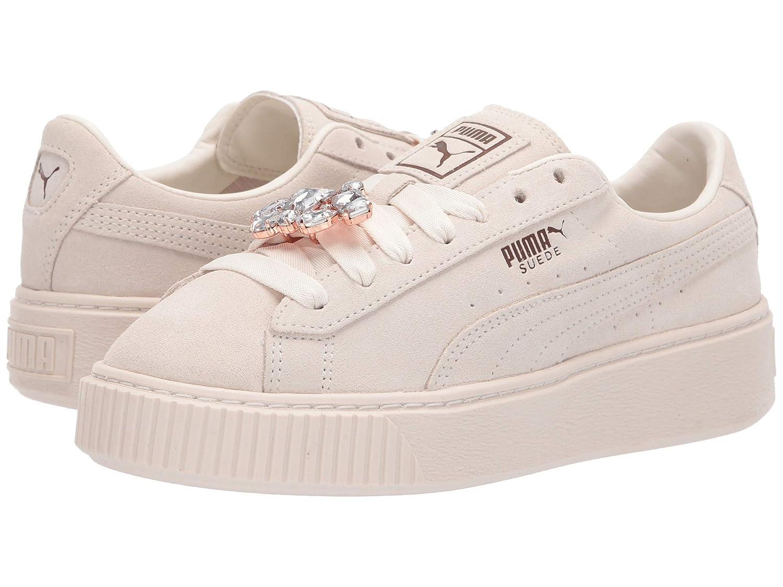 大注目 [プーマ] [プーマ] レディースランニングシューズスニーカー靴 Suede Platform Gem [並行輸入品] B07N8F64NZ Whisper White/Whisper - White/Whisper White 10.5 (27cm) B - Medium 10.5 (27cm) B - Medium|Whisper White/Whisper White, 帽子の通販専門店 - Bebro -:5914892c --- cursos.paulsotomayor.net