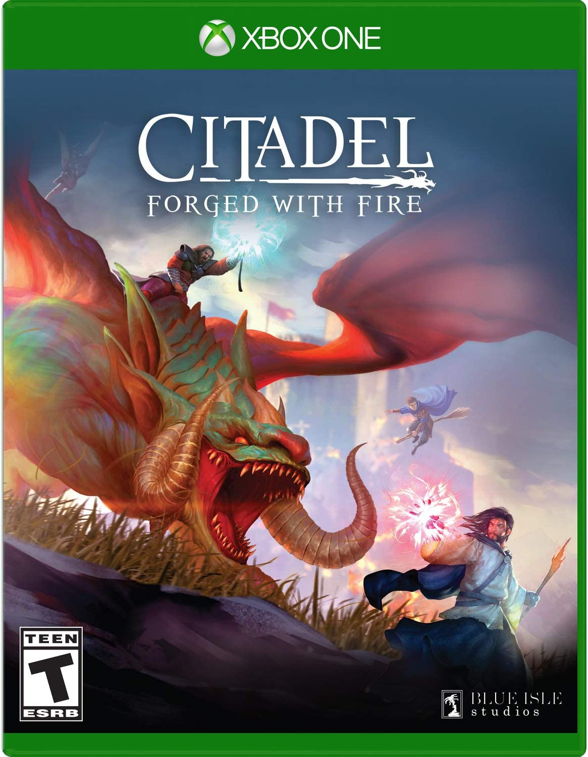 Citadel: forged with Fire is a massive online sandbox RPG with elements of magic, spellcasting and inter-kingdom conflict. As a newly minted apprentice of the magic arts, you will set off to investigate the dangerous world of igneous. Your goal: create a name for yourself and achieve notoriety and power among the land's ruling house you have complete freedom to pursue your own destiny; hatch plots of trickery and deceit to Ascend the ranks among allies and enemies, become an infamous Hunter of other players, build massive and unique castles, tame mighty beasts to do your bidding, and visit Uncharted territories to unravel their rich and intriguing history. The path to ultimate power and influence is yours to choose. Available now worldwide in retailers and on digital platforms, for PlayStation®4, Xbox One and Steam PC.