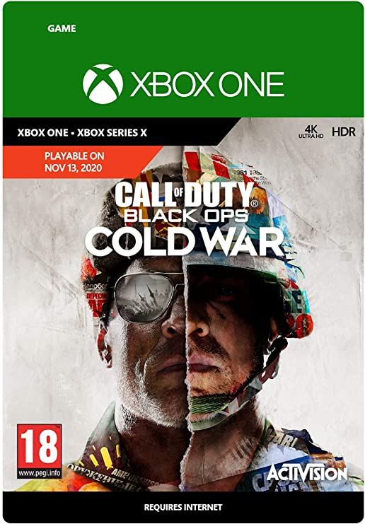 Call Of Duty Black Ops Cold War Standard Xbox Download Code Amazon Co Uk Pc Video Games