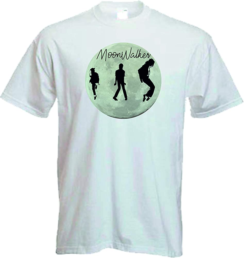 DrMugCollection Camiseta Michael Jackson Moonwalker (S): Amazon.es: Ropa y accesorios