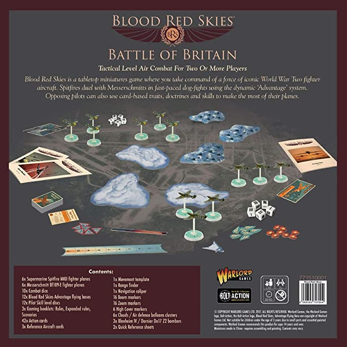 amazon com blood red skies battle of britain 1 200 wwii mass air