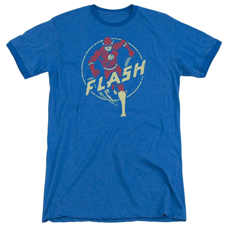 DC Comics Men's Flash Comics Ringer T-Shirt