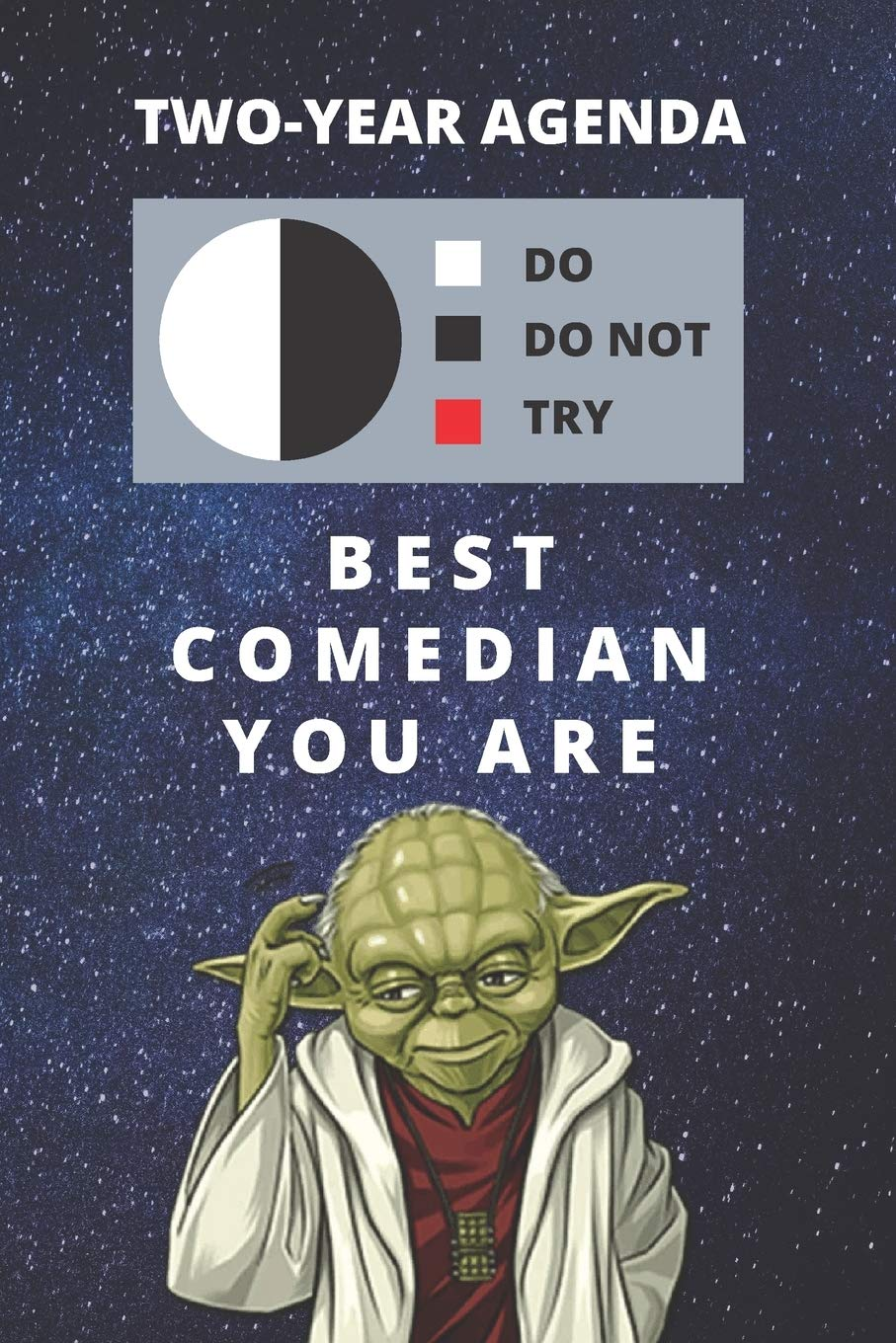 Best Comedy  2021 Buy 2020 & 2021 Two Year Daily Planner For Best Comedian Gift
