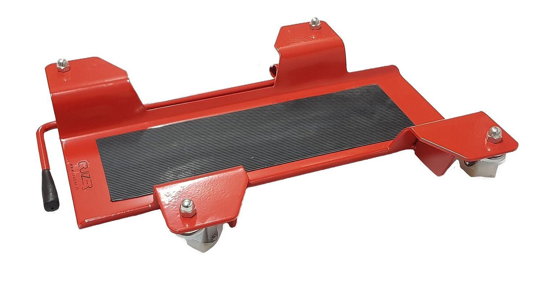 Cruizer Carrello Pedana Scooter Universale, Rosso, Taglia L CAV