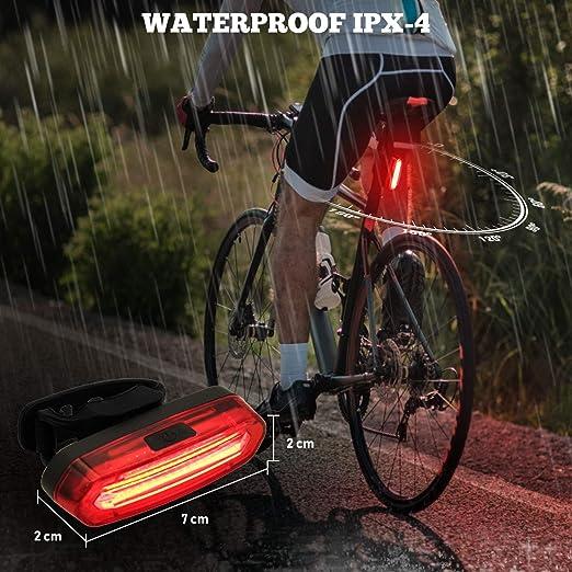 Halfords Vélo//Cycle USB Avant Clip Light Standard clignotant faisceau//Light NEUF