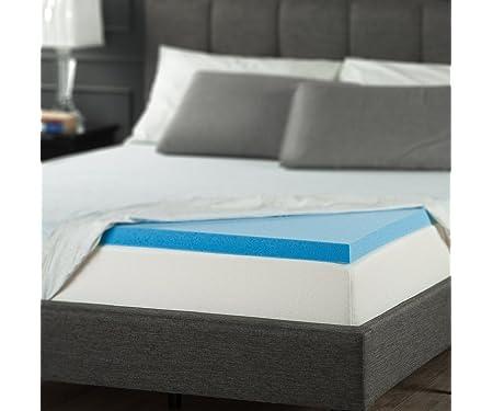 Zinus 2 Inch Gel Memory Foam Mattress Topper