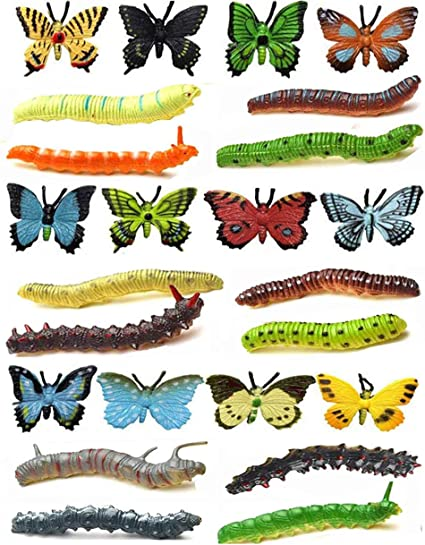 Insect Animals Model Butterfly Action Figure Figurine Miniature Party Jokes